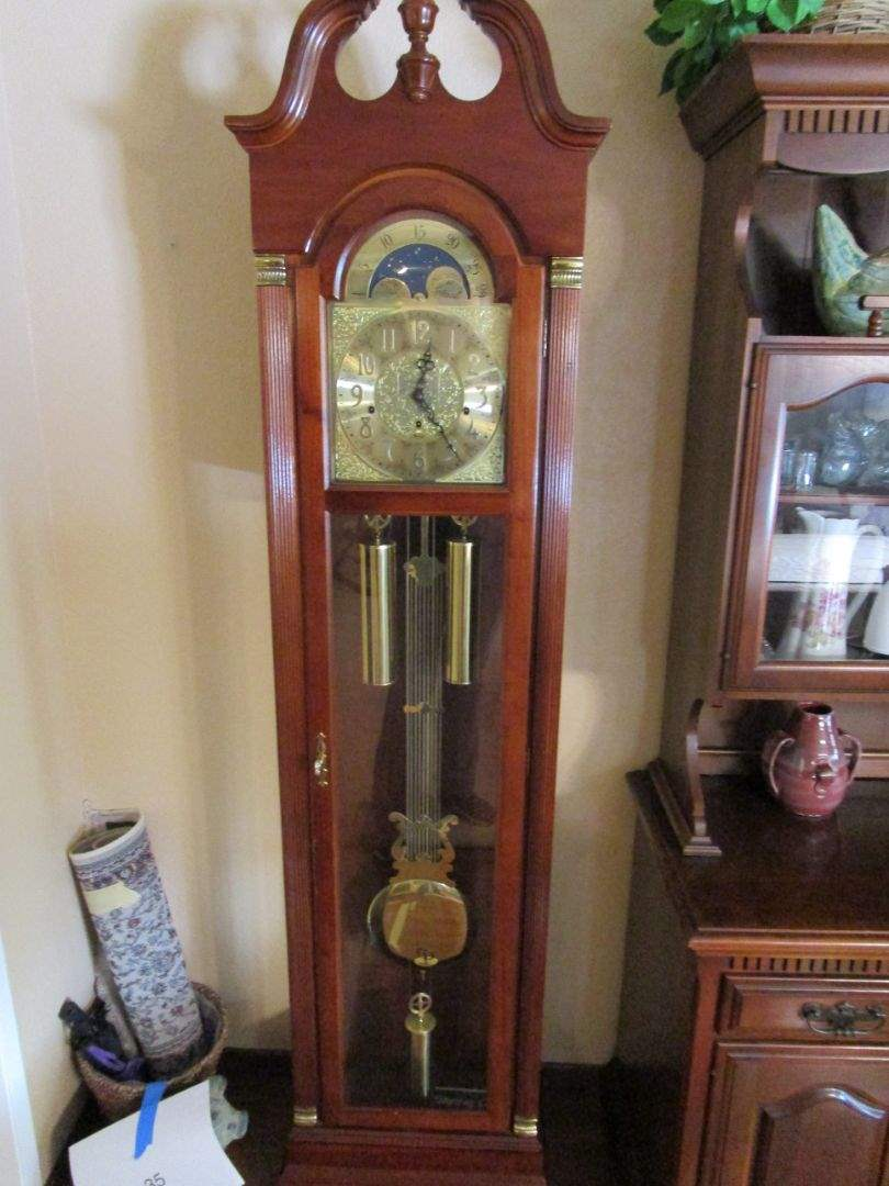 Lot # 36 -  Ridgeway Grandfather Clock (main image)