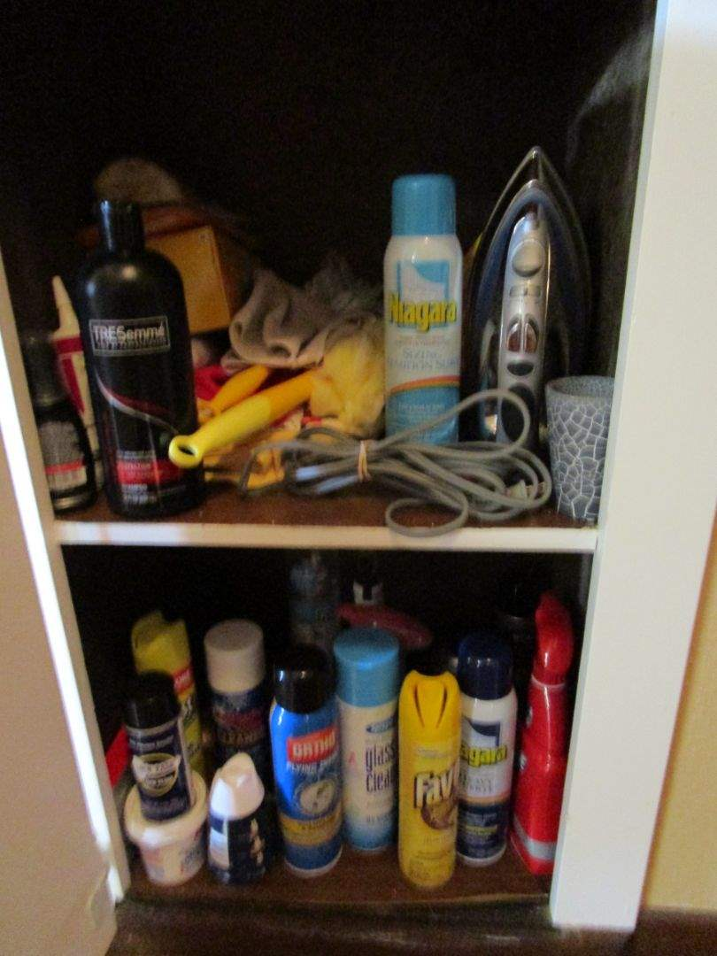 Lot # 50 - Linen Cabinet Items (main image)