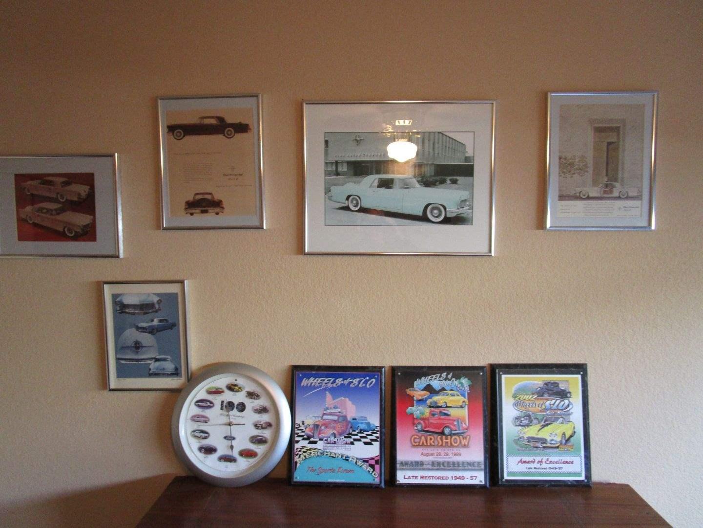 Lot # 64 - Automotive Wall Art (main image)