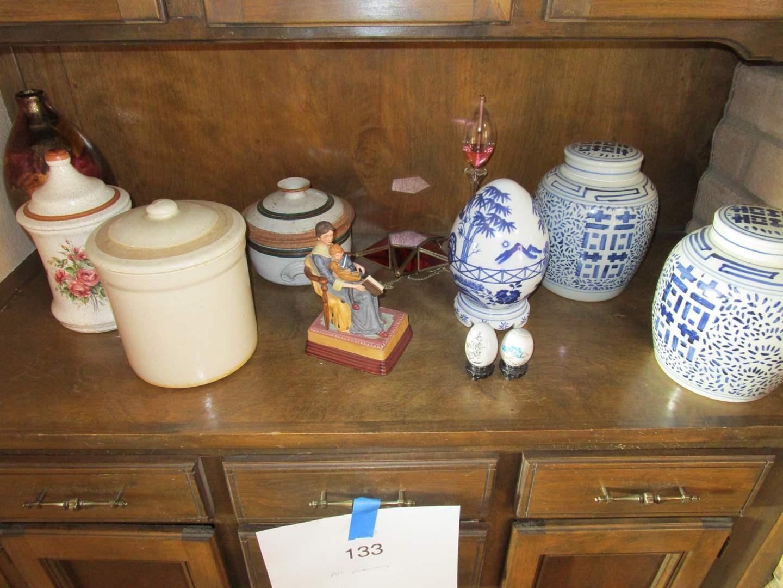 Lot # 122 - Crocks - Vases - Decor (main image)