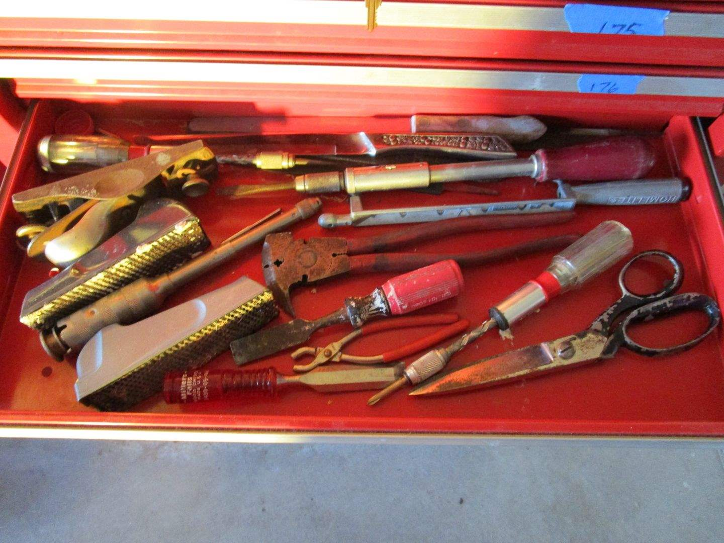 Lot # 177 - Craftsman Drawer 4 Contents (main image)