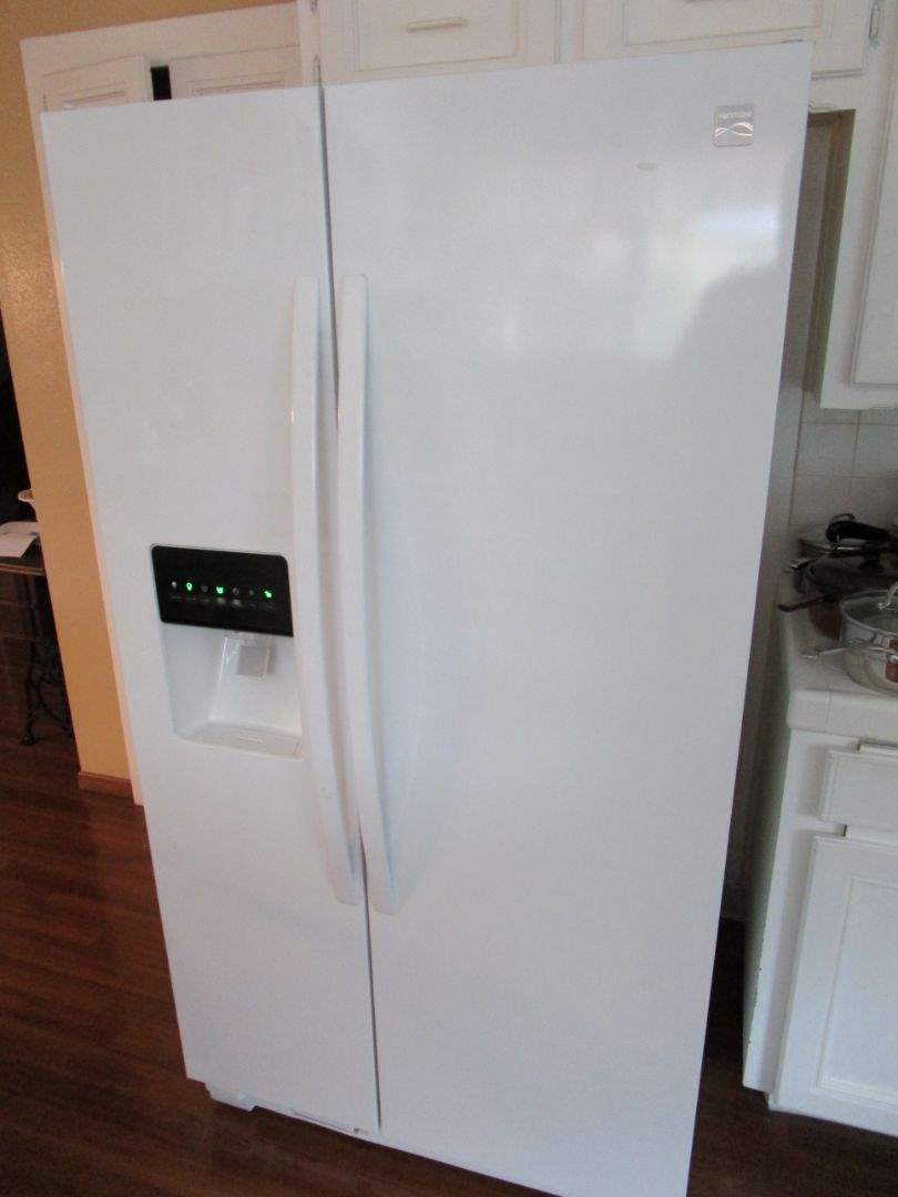 Lot # 227 - Kenmore - Side-by-Side - Refrigerator (main image)