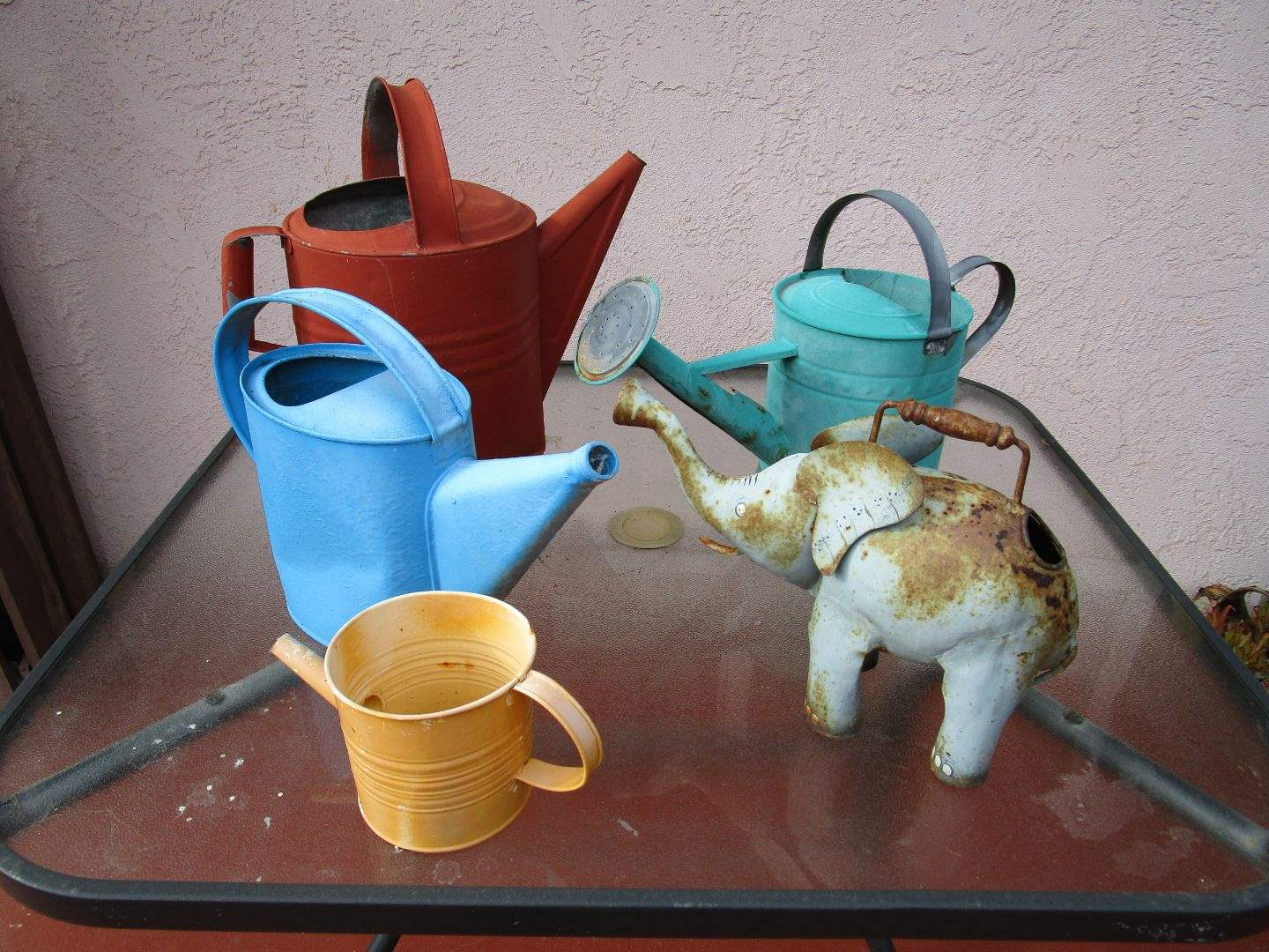 Lot # 234 - 5 Watering Cans (main image)