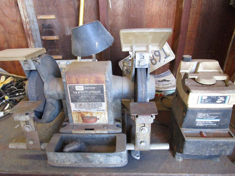 Lot # 36 - Craftsman Bench Grinder (main image)