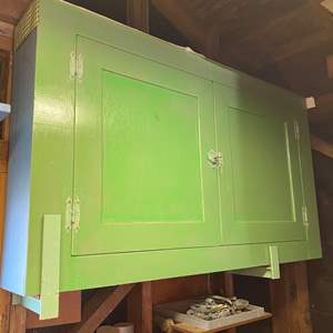 Auction Thumbnail for: Lot # 225 - VINTAGE CABINET