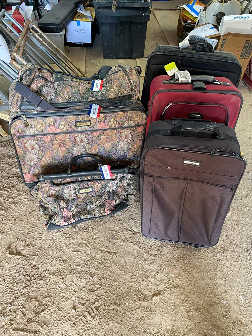 Lot # 372 - SUITCASES  (main image)