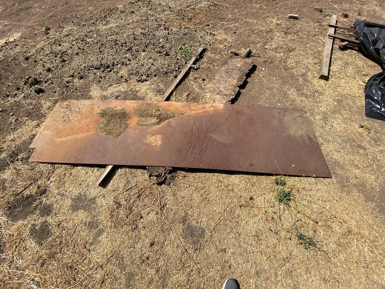 Lot # 383 - SHEET OF METAL (main image)