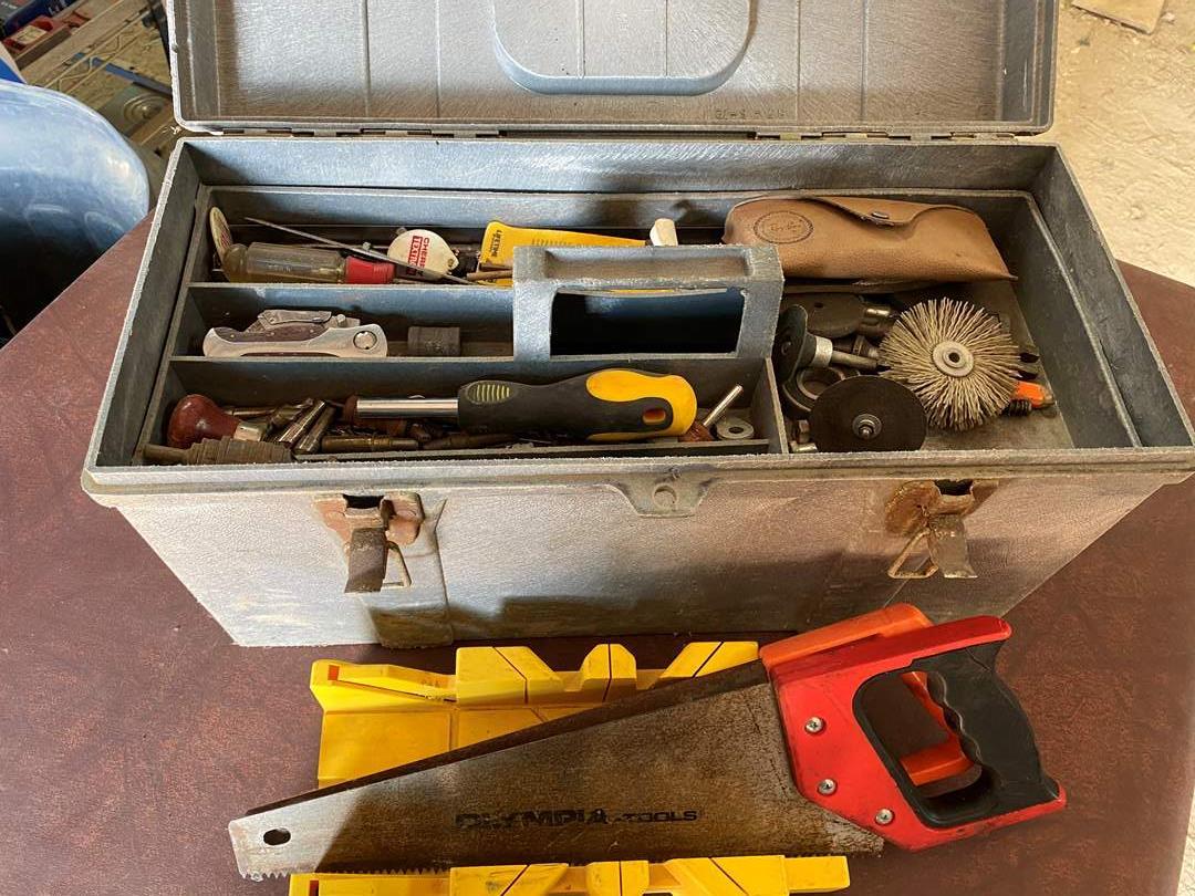 Lot # 318  - TOOL BOX FULL OF TOOLS (main image)