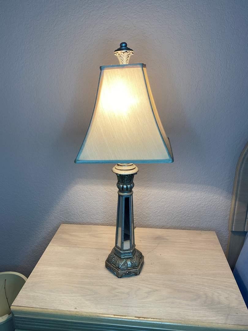 Lot # 18 - TWO MATCHING LAMPS (main image)