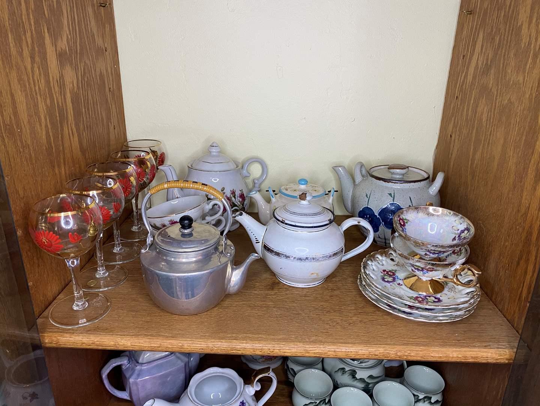 Lot # 35 - VINTAGE TEA ITEMS & GLASSWARE (main image)