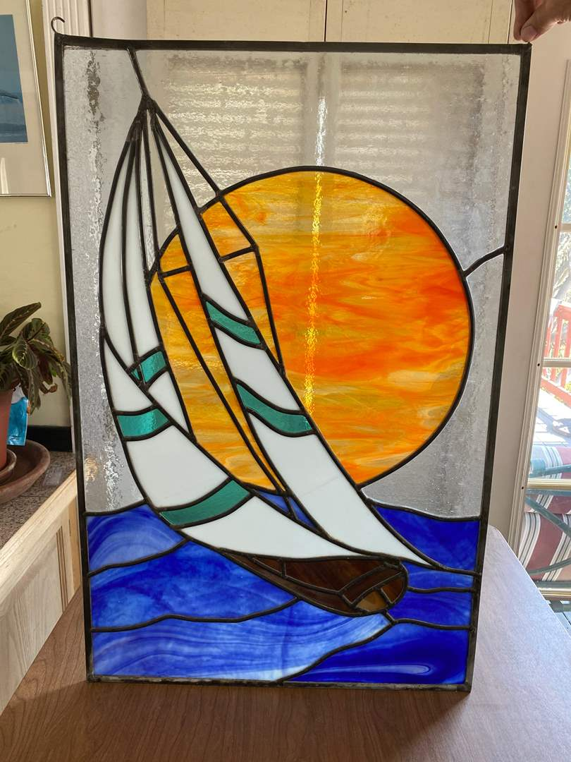 Lot # 285 - STAINED GLASS (main image)