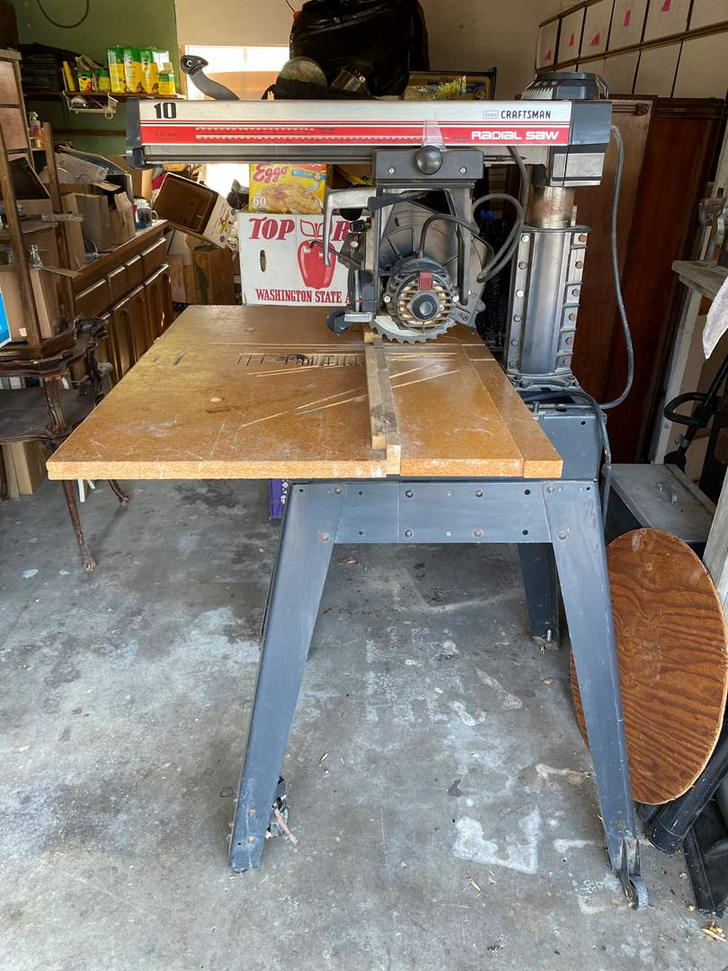 Lot # 301 - CRAFTSMAN RADIAL SAW (main image)
