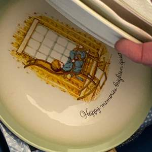 Auction Thumbnail for: Lot # 131 - HOLLY HOBBIE & OTHER VINTAGE DISHES