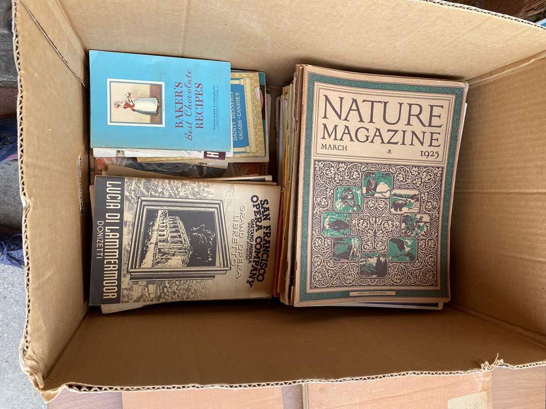 Lot # 310 - BOX OF 1925/26 MAGAZINES (main image)