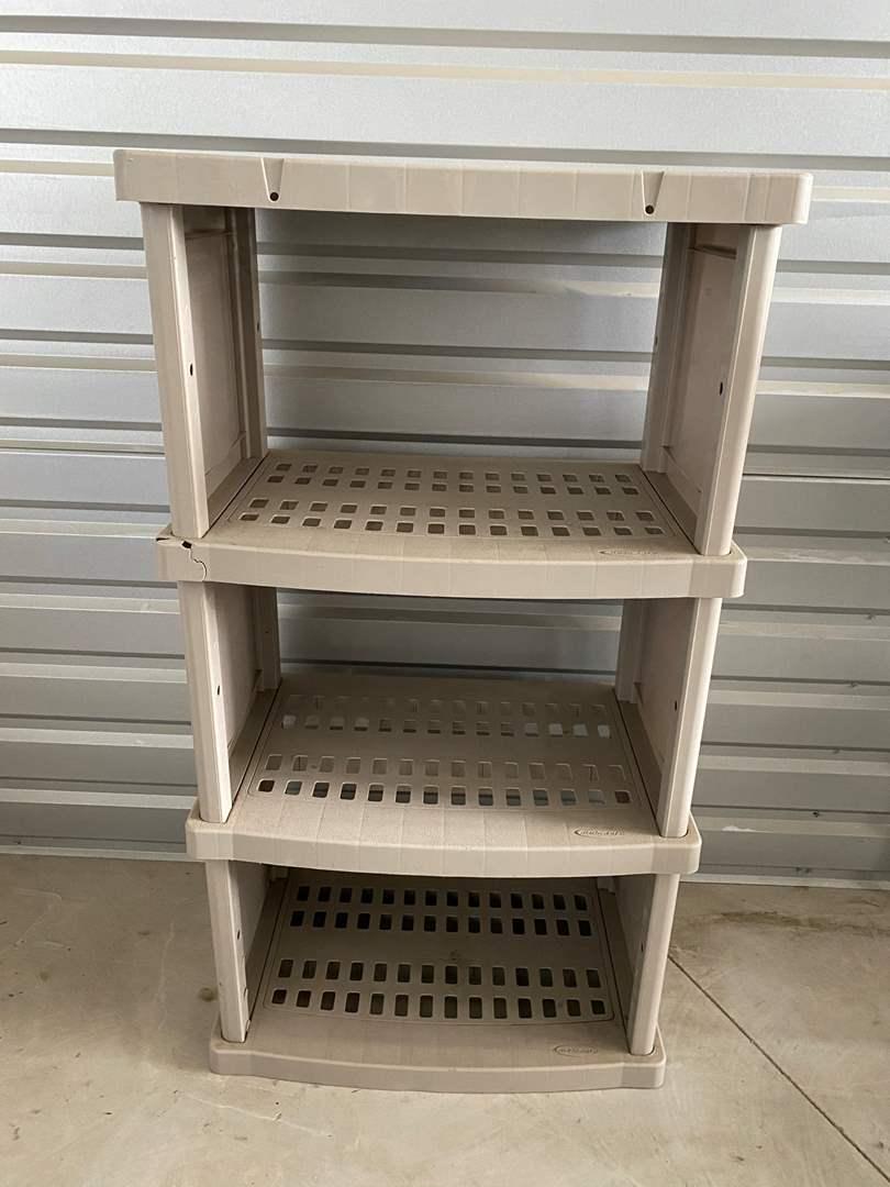 Lot# 23- Suncast Storage Shelf (main image)