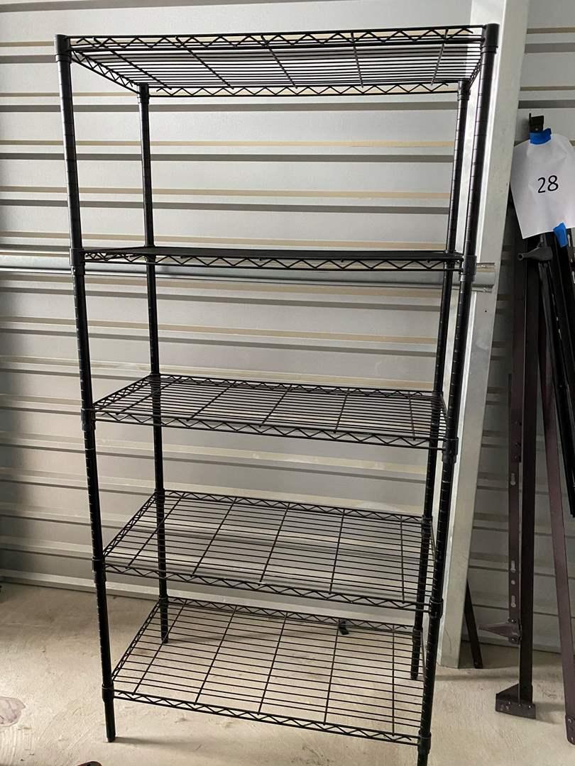 Lot# 29- Metal Storage Rack (main image)