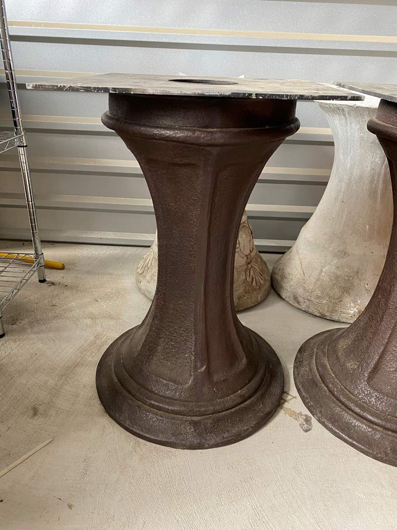 Lot# 42- Pair of Pedestal Table Bases (main image)