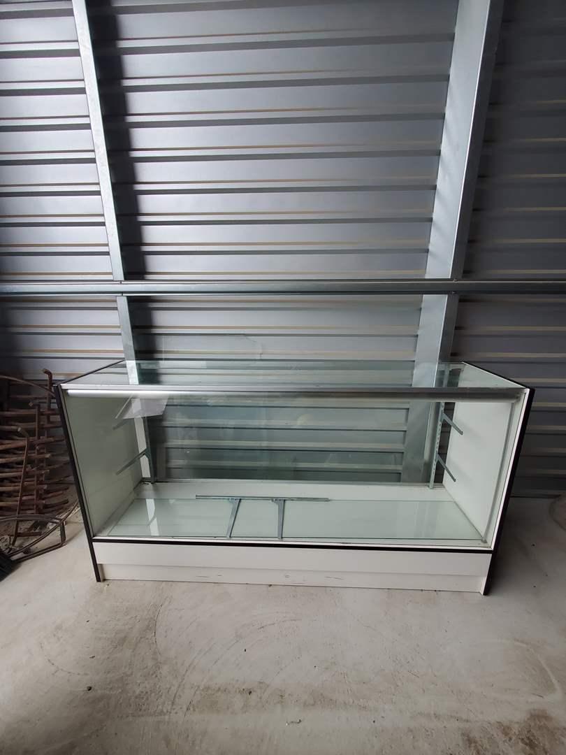 Lot# 57- Glass Display Case (main image)