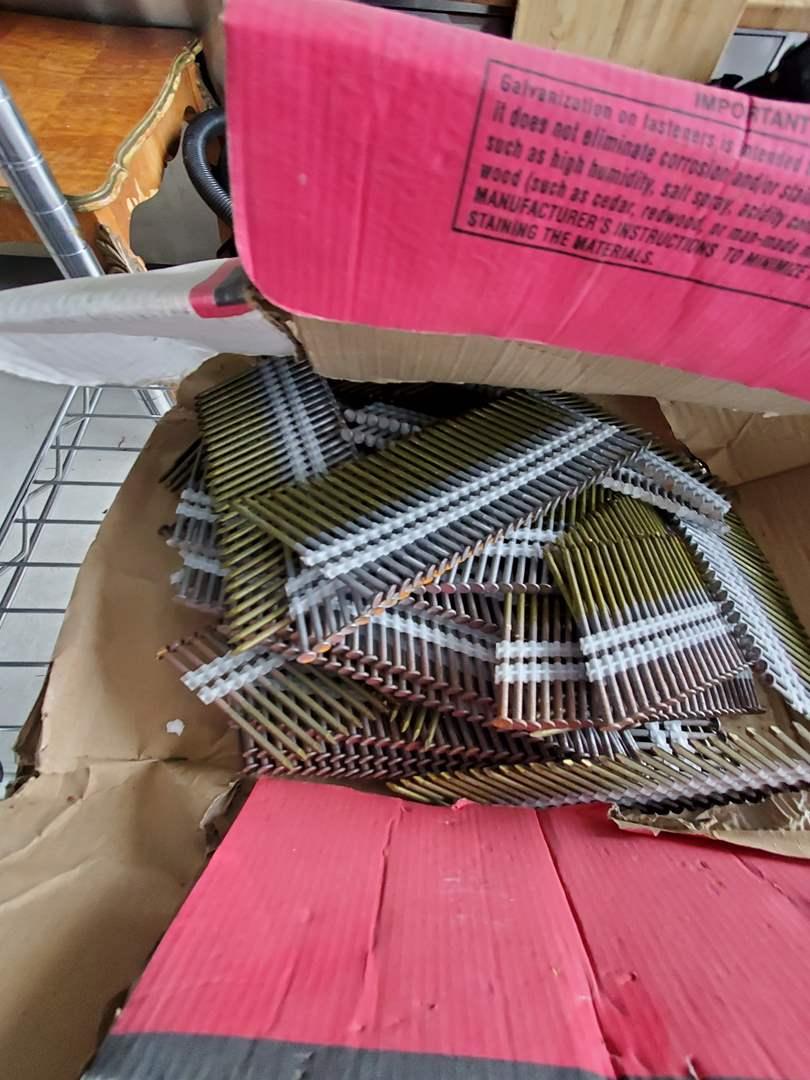 Lot# 76- NSF rack w/shelf contents (main image)