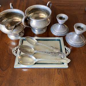 Lot # 29 - STERLING ITEMS (313g) PLUS (252g WEIGHTED)