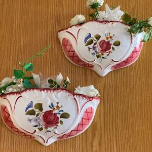 Lot # 54 - PAIR OF WALL VASES