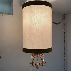 Lot # 107 - MID CENTURY HANGING LAMP