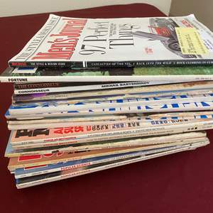 Lot # 134 - ROAD & TRACK MAGAZINES - TWO FULL BOXES