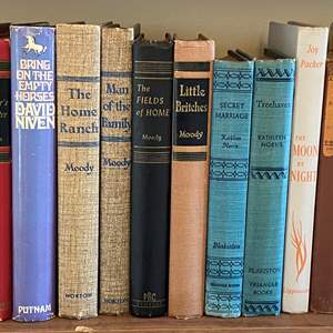 Lot # 139 - VINTAGE BOOKS