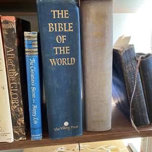 Lot # 140- VINTAGE BOOKS