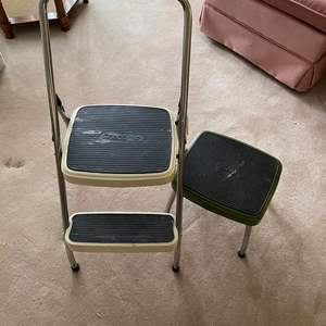 Lot # 158 - TWO COSCO STEP STOOLS