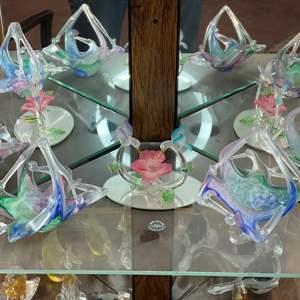 Lot # 15 - HAND BLOWN GLASS ART