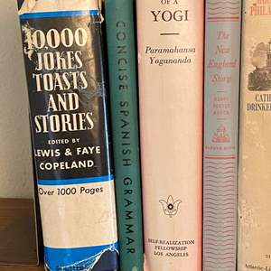 Lot # 138 - VINTAGE BOOKS