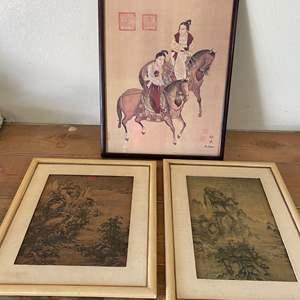 Lot # 60 - MODERN ASIAN ART PRINTS