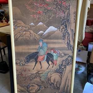 Lot # 67 - ASIAN ART PRINT