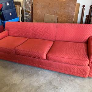 Lot # 74 - MID CENTURY MODERN 8FT COUCH IN GREAT SHAPE