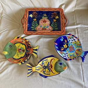 Lot # 79 - FISH DISHES