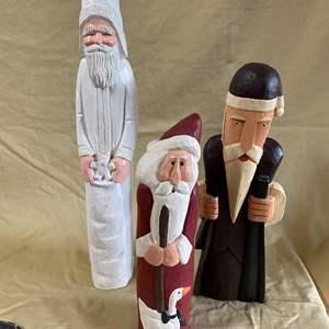 Lot # 117 - CHRISTMAS LOT 2 - SANTAS