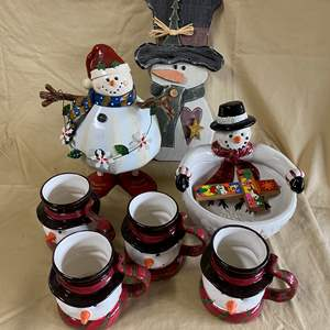 Lot # 119 - CHRISTMAS LOT 4 - SNOWMEN