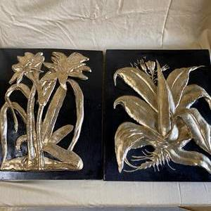 Lot # 28 - PAIR OF WALL ART PIECES