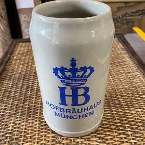 Lot # 110 - LARGE HOFBRAU GERMANY STEIN