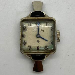 Lot # 244 - ANTIQUE LADY ELGIN 14K GOLD WATCH (7.5g total weight)