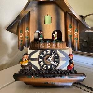 Lot # 183 - W. GERMANY VINTAGE MUSICAL CUCKOO-CLOCK