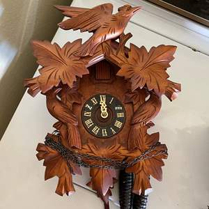 Auction Thumbnail for: Lot # 185 - W. GERMANY VINTAGE CUCKOO-CLOCK
