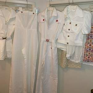 Lot # 211  - VINTAGE CLOTHING - ROMPERS & JUMPERS