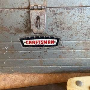 Lot # 216 CRAFTSMAN BOX FULL OF CRAFTSMAN TOOLS