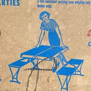 Lot # 221 - VINTAGE HANDY TABLE