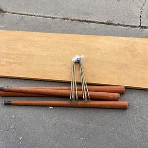 Lot # 225 - MID CENTURY MODERN COFFEE TABLE - COMPLETE