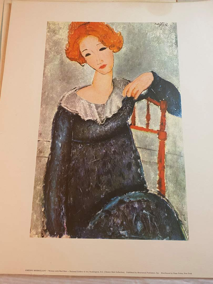 Lot # 110 - VINTAGE LITHOGRAPHS & SILK SCREENS - READY FOR FRAMING (main image)