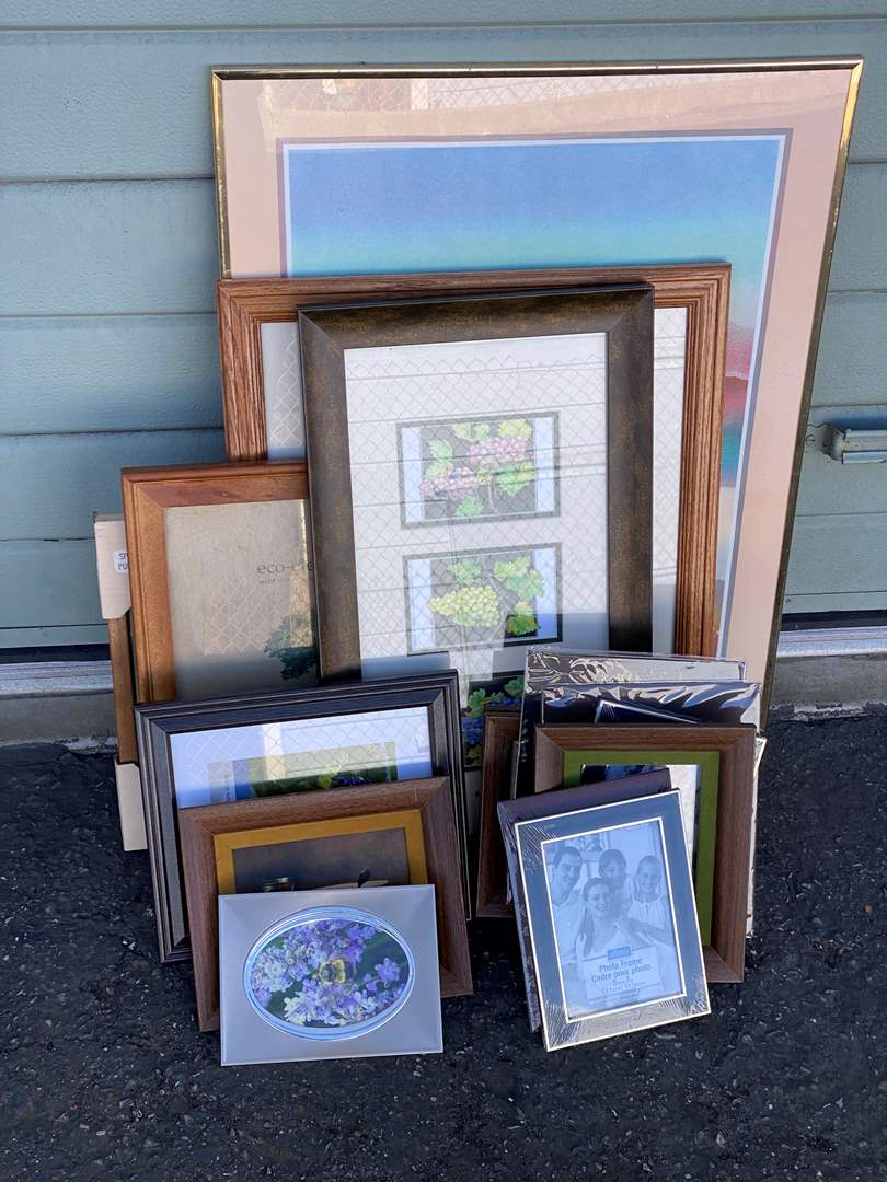 Lot # 116 - Frames Some With Art (main image)