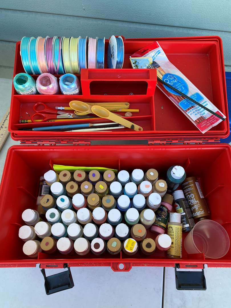 Lot # 120 - Large Crafting Box (main image)